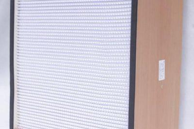 高效空气过滤器主要用于过滤0.3um以下的空气悬浮颗粒