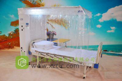 急性白血病患者化疗后预防感染中简易层流床作用