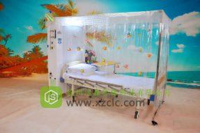 无菌隔离病床-JS-H1型标准款直轨直架式层流床消毒罩