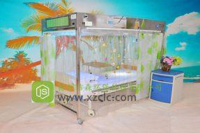 无菌层流床消毒罩-JS-V1型标准不锈钢板款层流床图片