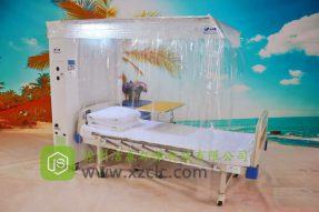 隔离病床-JS-H1型插管式水平经济款层流床消毒罩